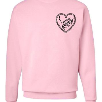 "Niall Horan ""On The Loose Heart"" CORNER Crew Neck Sweatshirt"
