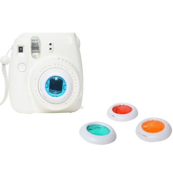 Colorful Filter 4 Colors Magic Lens For Fujifilm Instax Mini 8 7s Cameras High Quality Colorful Filter Gift For Traveling #201