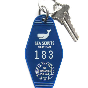 Sea Scouts Key Tag