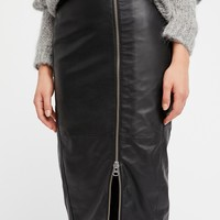 Free People Jowett Pencil Skirt