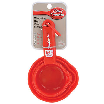 Bulk Betty Crocker Nesting Measuring Cup Set at DollarTree.com
