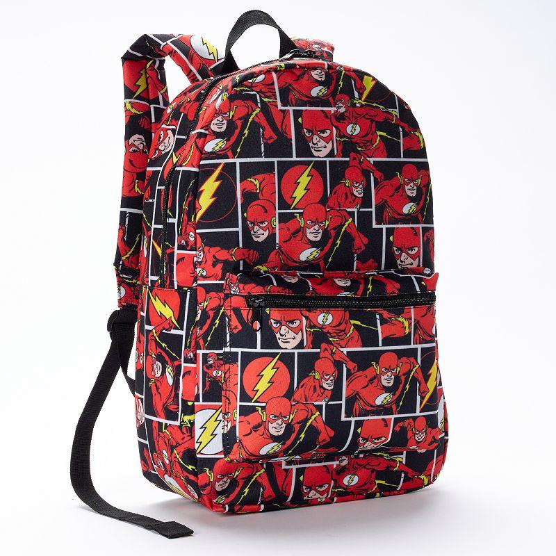 Dc Comics Flash Comic Backpack Red From Kohl S