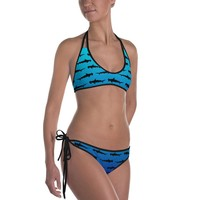 Shark Swimsuit - HammerHead Bikini - Hammerhead Shark One Piece Swimsuit