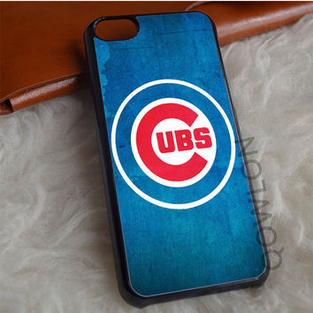 Chicago Cubs Texture iPhone 7 Case