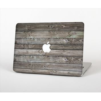 The Rough Wooden Planks V4 Skin Set for the Apple MacBook Air 13""