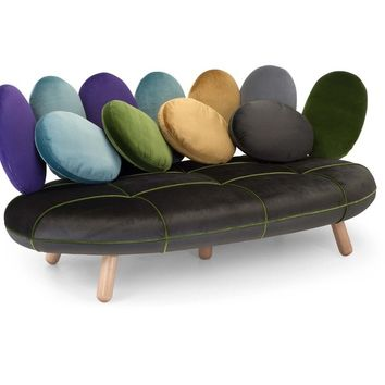JELLY | 3 seater sofa By Adrenalina design Simone Micheli