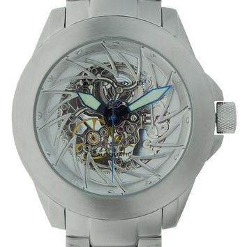 Android AD468BS Men's Ninja 50 Skeleton Automatic Watch