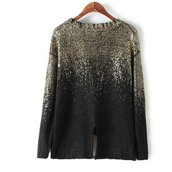 Bling Bling Autumn Sweater