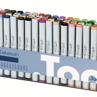 Alvin S72D Copic Sketch 72 Piece - Set D