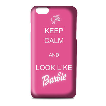Keep Calm And Look Like Barbie artwork 3D Iphone | 4s | 5s | 5c | 6s | 6s Plus | Case