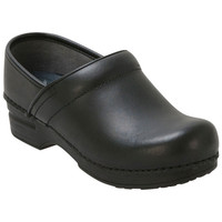 Dansko Professional XP Box Black Clog/Mule