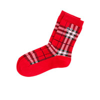 Boys Plaid Socks