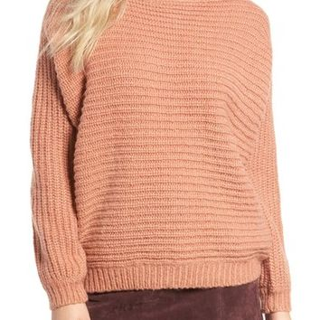 Glamorous Open Back Boyfriend Sweater | Nordstrom