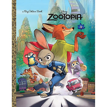 Disney - Zootopia Big Golden Book