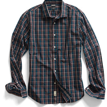 Spread Collar Dress Shirt in Robert Plaid
