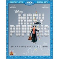 Mary Poppins (50th Anniversary Edition) (Blu-ray) (Widescreen) - Walmart.com