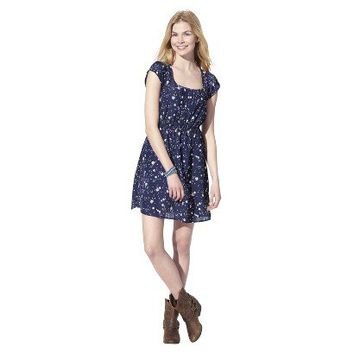 Target : Xhilaration® Juniors Cap Sleeve Fit and Flare Dress - Assorted Colors : Image Zoom