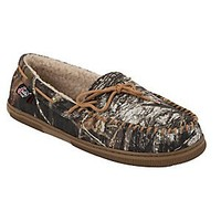 Justin® Men's Mossy Oak Camo Moccasin Slipper by M&F®