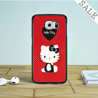 hello kitty red Samsung Galaxy S6 Edge Case