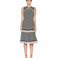 Kate Spade New York Broome Street Plains Ditsy Rayon Dress