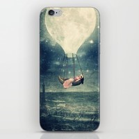 Moon Reverie iPhone & iPod Skin by Paula Belle Flores