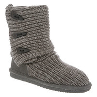 Womens Knit Tall by BEARPAW in color 055-Gray