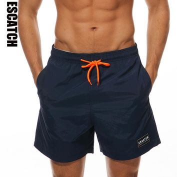 Whosale 2018 New Hot Mens Shorts Surf Board Shorts Summer Sport Beach Homme Bermuda Short Pants Quick Dry Solid Boardshorts 3XL