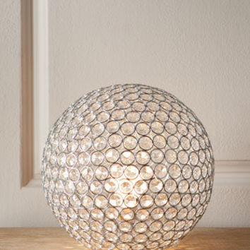 """""""Bosley"""" Crystal Ball Lamp - Horchow"""