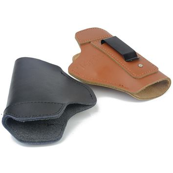 Leather Inside The Waistband Holster Concealed Carry Gun Holster Fit for Glock 17 19 26 42 43  Springfield XD