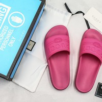 Gucci Slide Sandal With Blue Box Style #10 - Best Online Sale