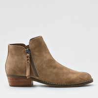 AEO Side Zip Bootie, Taupe