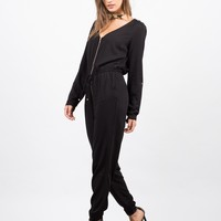 Zip Up Jumpsuit
