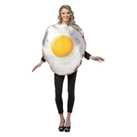 Adult Fried Egg Cotume - One Size Fits Most