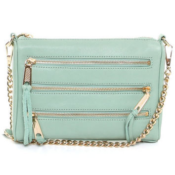 DJPremium.com - Detailed Images of Mini 5 Zip Bag by Rebecca Minkoff