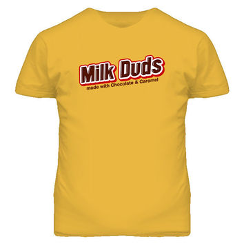 Milk Duds Chocolate And Caramel Retro Bar T Shirt