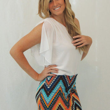 missoni chevron knit skirt - $35.00 | Daily Chic Bottoms | International Shipping