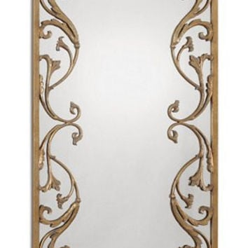 Uttermost Apricena Decorative Gold Mirror - 12814