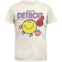 Mister NBA - Mister Detroit Soft T-Shirt