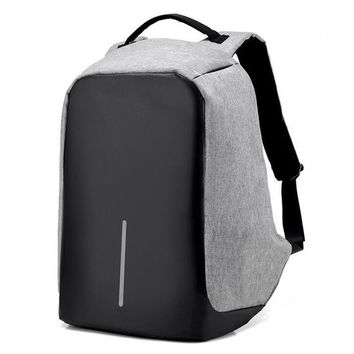 men backpack women