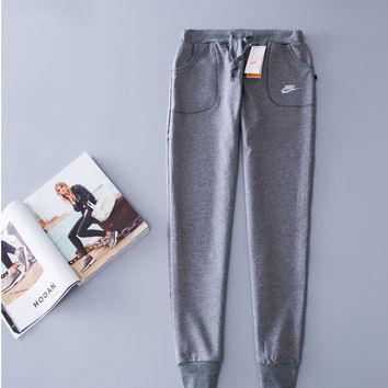 """Nike"" Pants Men's and Women's Slim Jogging Sportswear [9231072455]"