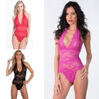 Hot Deal On Sale Cute Sexy Underwear One-piece Exotic Lingerie [4919864196]