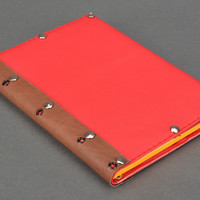 Artificial leather notebook Bright Handmade notepad Cute diary Design sketchbook