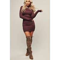 Forever Friends Bodycon (Hershey)