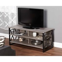 "Jaxx Collection TV Stand for TVs up to 48"", Multiple Finishes - Walmart.com"