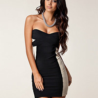 Contrast Bandage Dress, Rare London
