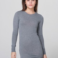 rsakwsdc - Knit Sweater Crew Neck Dress