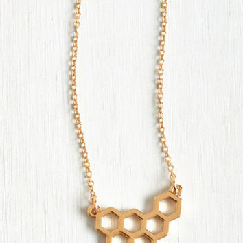 Quirky Now, Where Buzz I? Necklace by ModCloth
