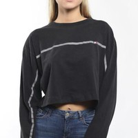 Vintage Tommy Hilfiger Long Sleeve Crop Tee
