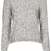 Space Dye Jumper - Grey