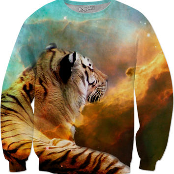 Tiger and Nebula Sweatshirt